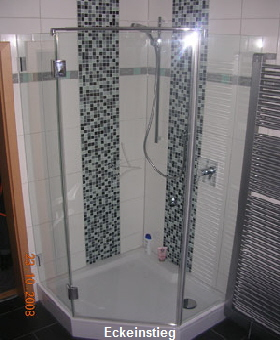 willst du duschen ganz modern komm zu sterz der hilft dir gern. Black Bedroom Furniture Sets. Home Design Ideas