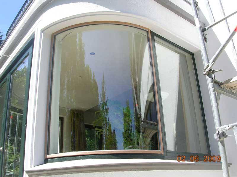 Umverglasung von einfach auf w rmeschutzglas for Kunststofffenster rund